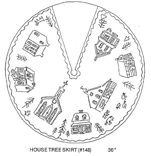 House Tree Skirt