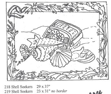 Shell Seekers w/border