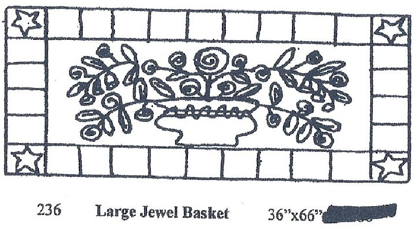 Large Jewel Basket