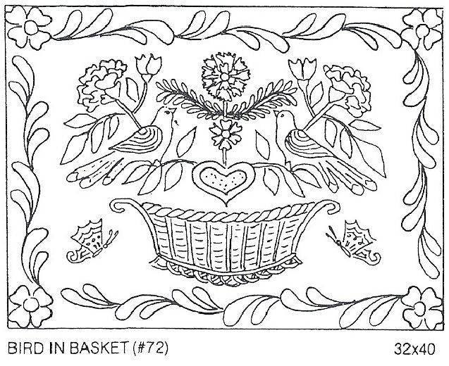 Bird In Basket